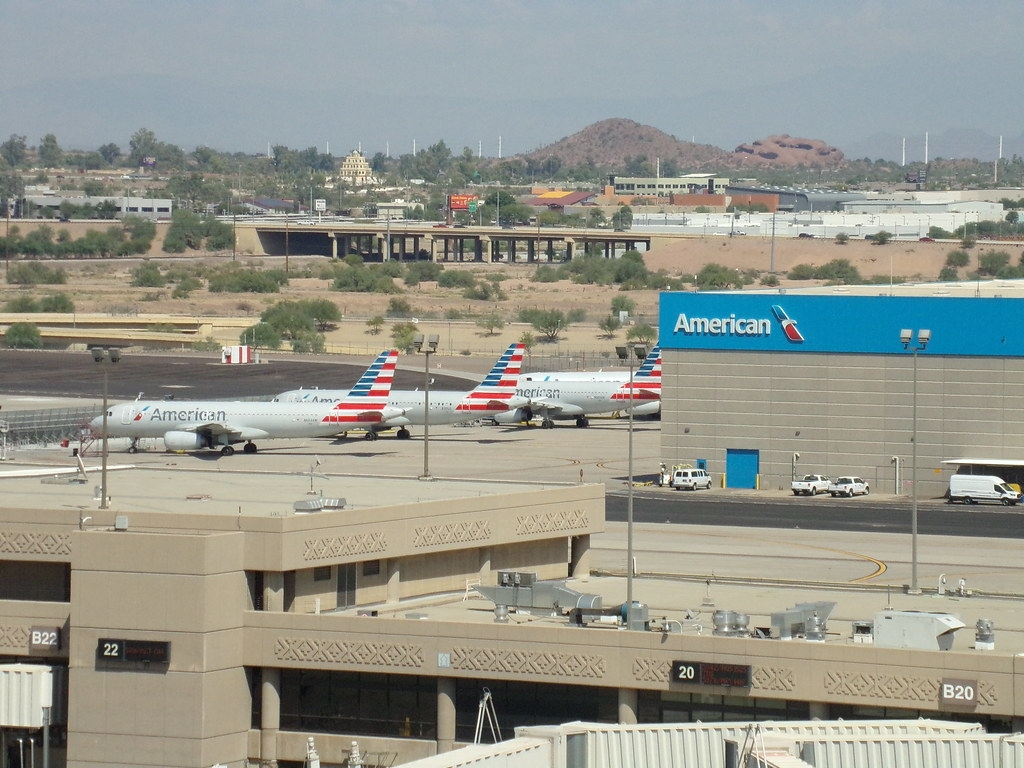 American Airlines Hanger @ PHX
