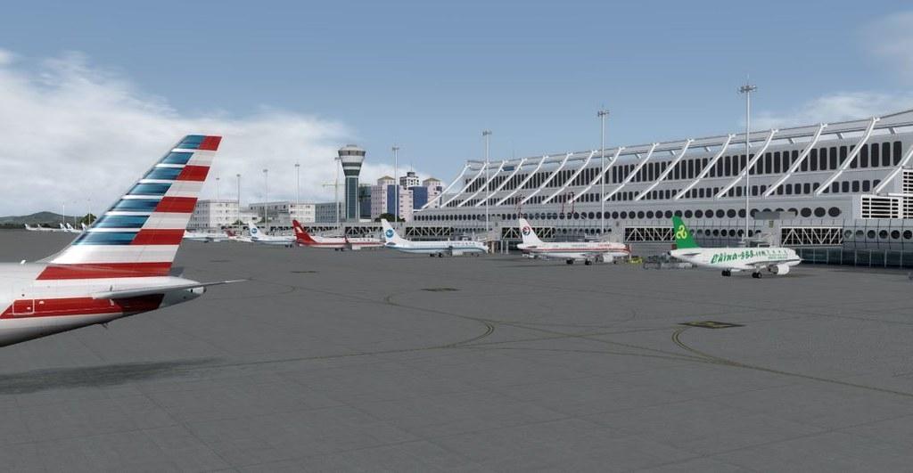 767 Taipai Taiwan to Gaoqi 10 Terminal