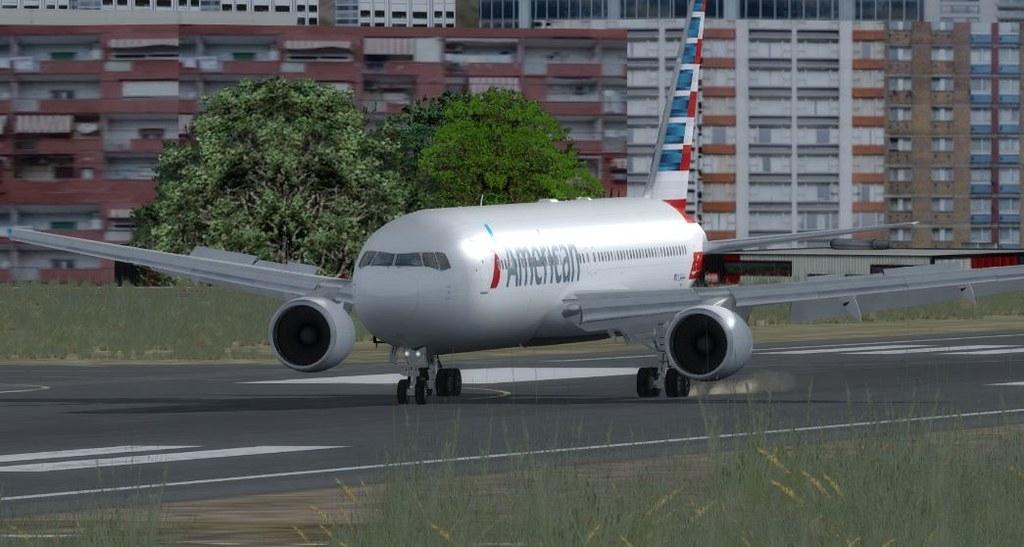 767 Taipai Taiwan to Gaoqi 9 Touch down