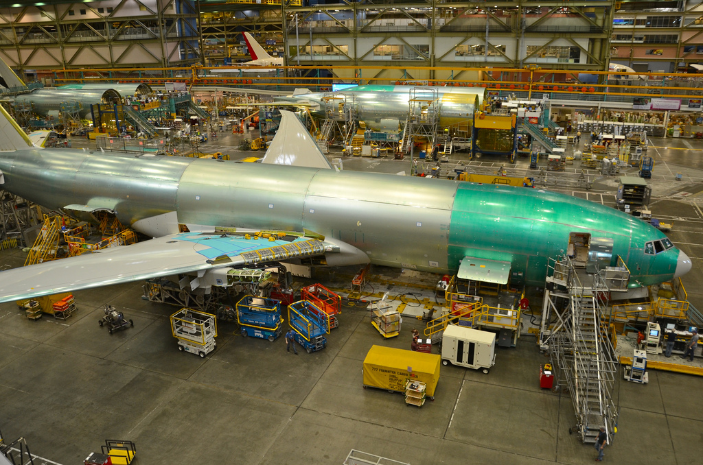 Boeing 777 Final Assembly
