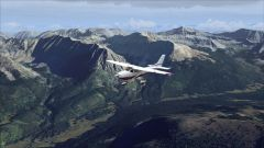 Carenado Cessna 182T enroute Gunnison CO