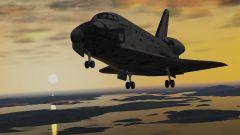X Plane10(démo)Navette Orbiter landing KNUW