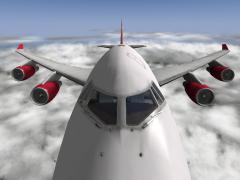 B747-400 Virgin Atlantic.
