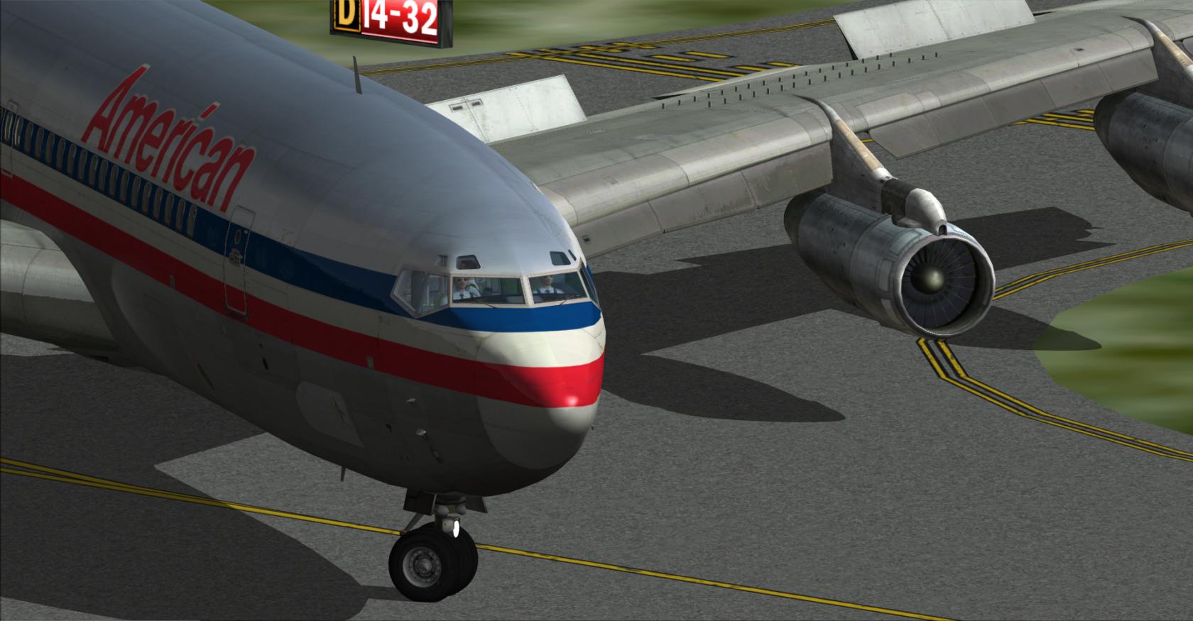 Captain Sim 707 @ Some Random Airport