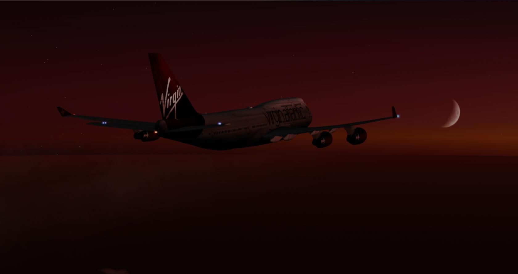 Virgin Atlantic McPhat Textures PMDG 747X