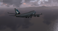 On The ILS into VHHH