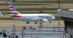 American Airlines at KDFW