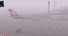 Don't You Love A Foggy Airport? (SCEL - Santiago)