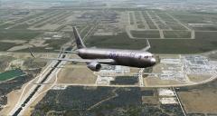 McPhat B767 AA One World Departing Dallas