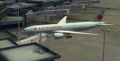 PMDG 777 Air Canada at FSDT CYVR