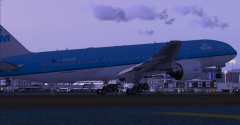 Captain Sim 777 Test Flight Out Of KLAX