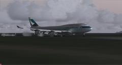 Soft Landing at -103 FPM