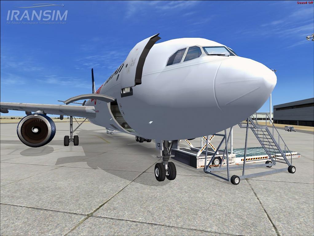 Iran Air Cargo at Persian Gulf Intl
