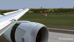 B787 Landing