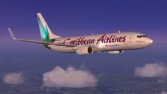 Caribbean Airlines Headed South - First leg