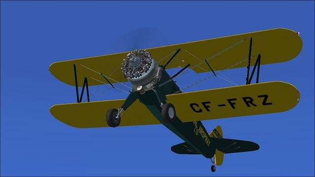 Stearman from Golden Age Sim is winner - MS FSX | FSX-SE Forum - The
