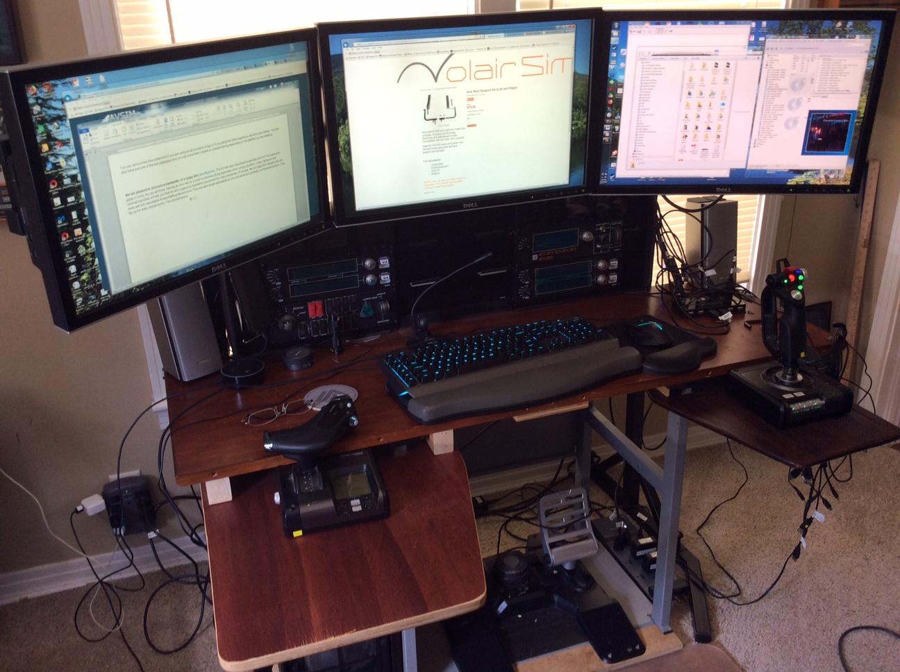 Volair Sim Large Display Stand - Hardware - The AVSIM Community