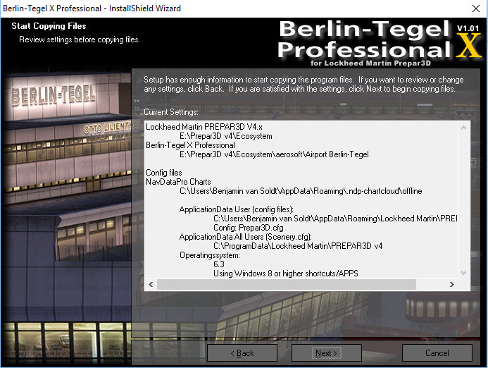Aerosoft Berlin Tegel Professional - AVSIM Reviews - The
