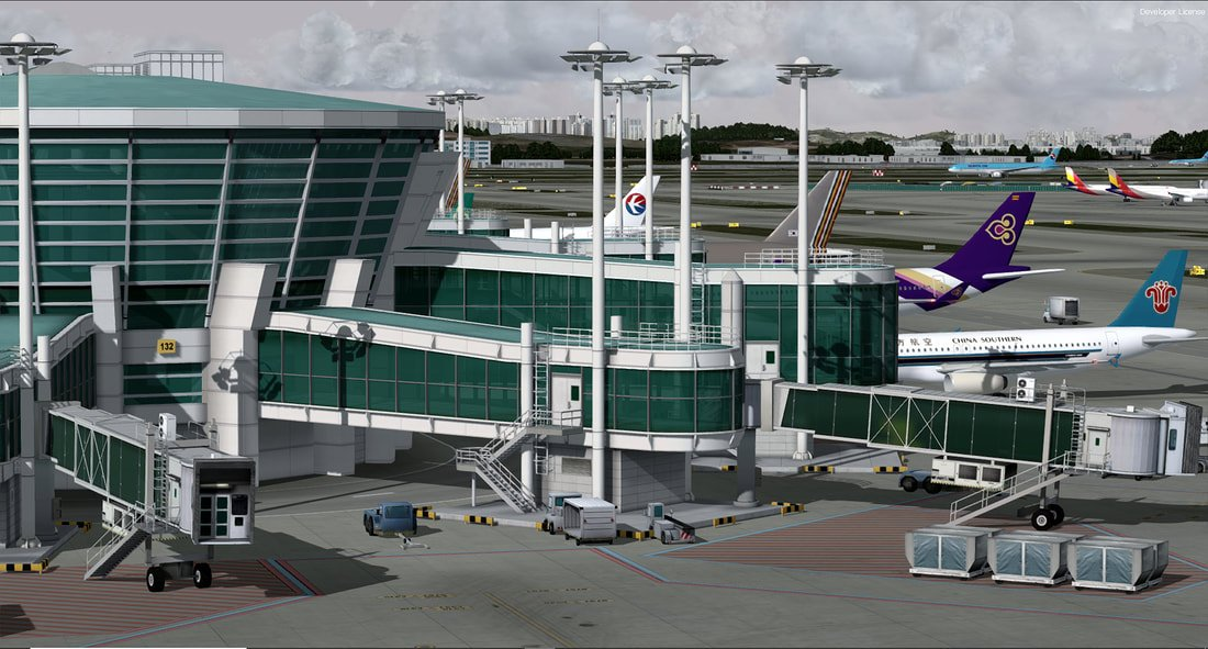 Pacific Islands Simulation Incheon International For P3DV4