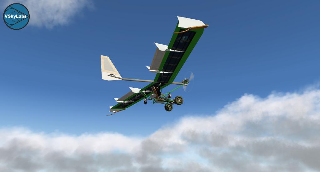 The VSKYLABS Ultralight Bush-Plane Aircraft project - The X