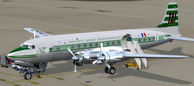 French liveries - PMDG DC-6 Cloudmaster - The AVSIM Community